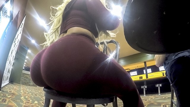 White asian dipping bowl - Thickumz - fat ass blonde caught at the bowling alley