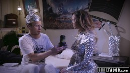 PURE TABOO Conspiracy Theorist Meets Sexy Female Alien