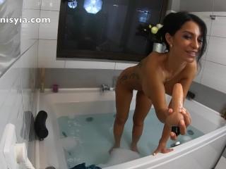 hot tub hardcore bubble bath – anisyia jasmin.com in 4k @60fps