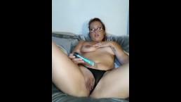 Touch my body...Cum watch me!