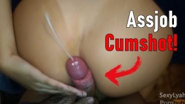 Big Booty POV Assjob Cumshot!