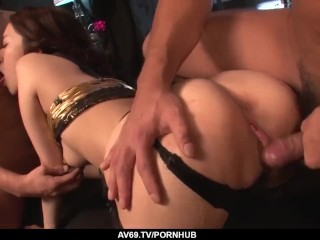 Ann Yabuki gets a lot of Japanese dick to play wit – More at 69avs com