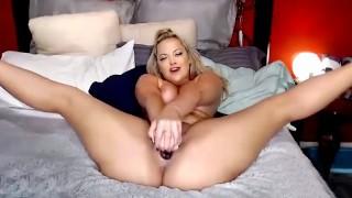 CamSoda - Alexis Texas Spread Eagle Masturbation