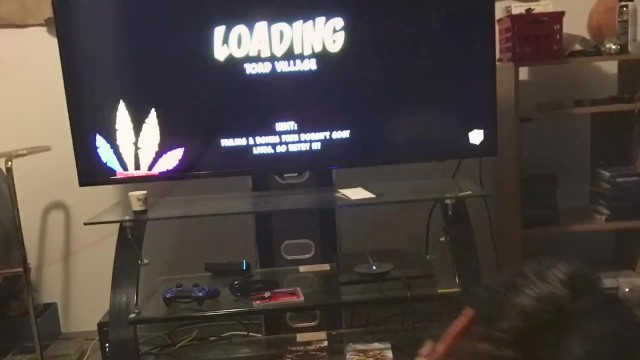 Getting dicked down while eating a popsicle and playing games 6