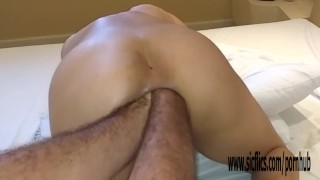 Double anal fisting and insertions amateur