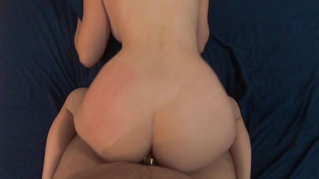 FIRST Butt Plug Fuck - Amateur Wife Fucked With Anal Plug In Ass
