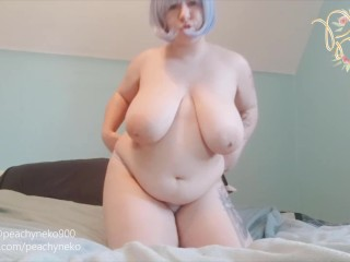 Big titty smokes and strips...