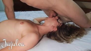 Giant dildo play