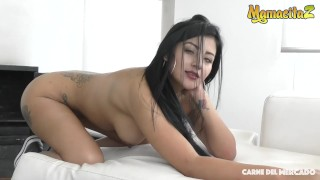 MamacitaZ - Super Hot Colombian Brunette Tricked Into SEX