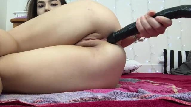 Schoolgirl Takes Huge 24 Inch BBC All The Way In Her Ass | Lexa Lite