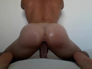 Sensual riding dick with lots of passionate...