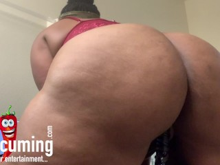 Red Attire – Fire Pussy & Ass Flashing