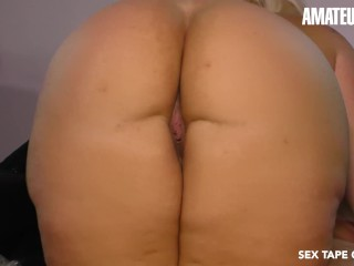 AmateurEuro – Chubby German Blonde Nailed On Tape By Her Sugar Daddy