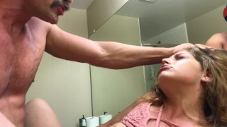 Bathroom Quickie Fuck during Party