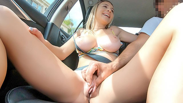 Larger breasts - Castingcouch-x huge breasted blonde picked up and fucked