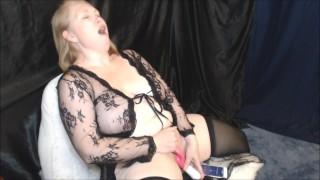 Cumming Hard with Lovense App - Loud Moaning Orgasm