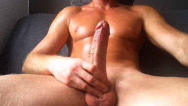 Horny guy wants to fucks a fake pussy but it's too tight