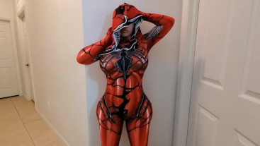 Crystal lust as spider-pawg jerked and fucked him till he cummed 3 times