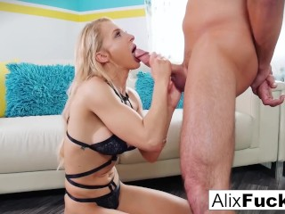 An amazing example of blow job skills by...