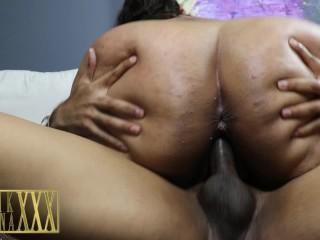 Hot FAT ASS Latina Breana Khalo Sucks and Fucks my BBC until she Cums Hard