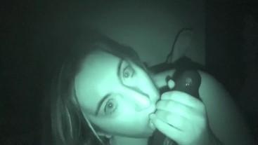 Night Vision Cheating BBC Blowjob- Dani Sorrento trailer