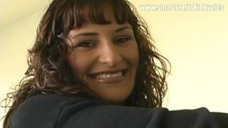 Funny Latina Puts a Qtip up Her Nose