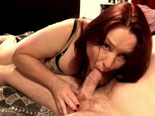 Blowjob with nipple play cum...