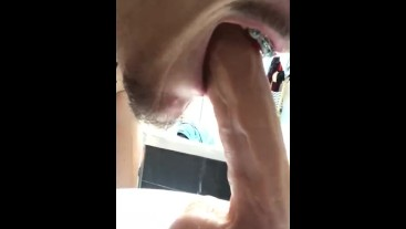 Braces dildo blowjob