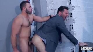 Diego Reyes og Dario Beck fuck Hårdt, før skydning masser af tyk sperm