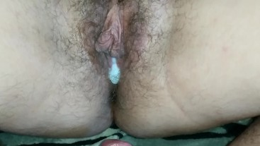 No condom unprotected breeding sex with my stepsister young hairy pussy