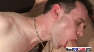 Hard uk cock assramming gay butt