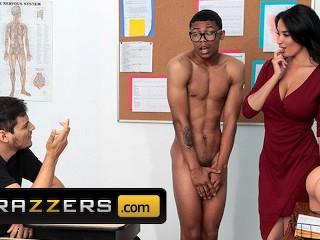 Anissa Kate Robin Hood Porn - Brazzers - Hot Teacher Anissa Kate uses BBC to Demonstrate ...