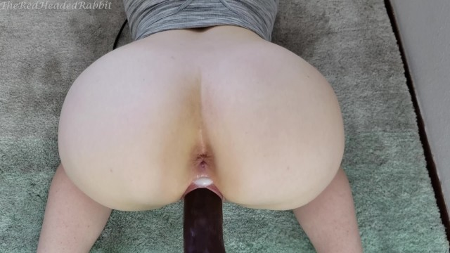 Fionaluv dildo - Creaming jason luvs huge dildo on my fuck machine - theredheadedrabbit