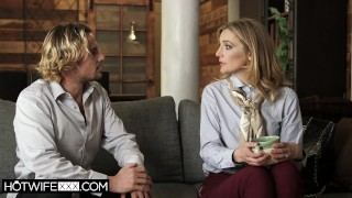 Squirting Hotwife Mona Wales Gets a Hallpass to Fuck With Her Neighbor