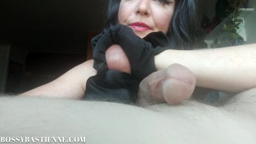 Bust-Along : Painful Self Ballbusting Instructions by Mean Bastienne