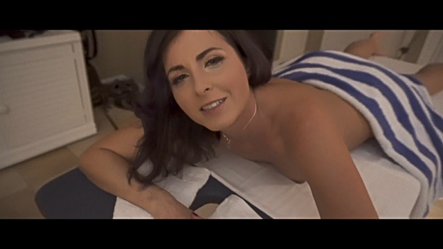 Balls deep in my wifes ass - Pov giving my friends hot mom a massage complete series helena price