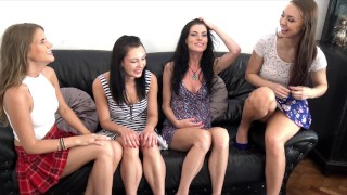 Atomic Girls Wedgies Day with Panties PLAY Short Skirts UPSKIRT PARTY DAY
