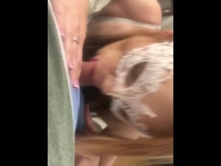Petite Teen Cums and gets a Messy CIM