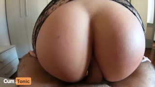 My Tight Ass and Came Too Early!!! (POV Anal Creampie)
