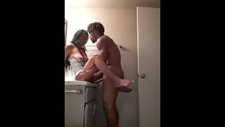 Girlfriend fucks ex boyfriend in vacant apartment #FanRequest
