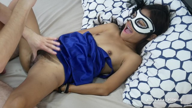 Tiny Thai Girl Hardcore Sex with Cumshot and Fuck again - Asian Teen Porn