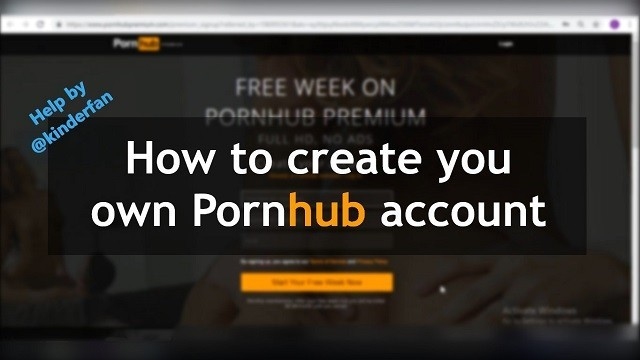 Create your picture porn - How to create a pornhub account. help instructions. free.