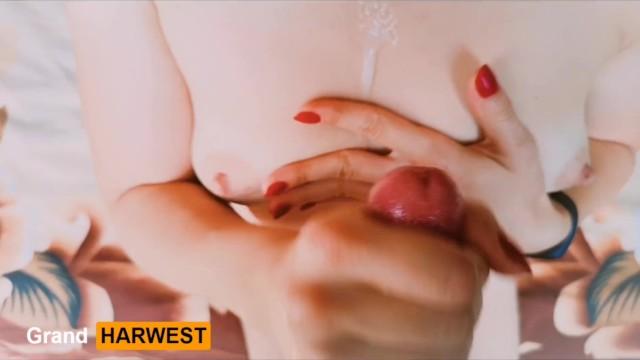 Cum mature swap Grandharwest. pov handjob with cumming on to tits