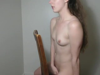 HUGE BBC Dildo Chair Riding