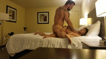 Sergeant Miles & Dakota Marr hotel hookup part 1 angle 1