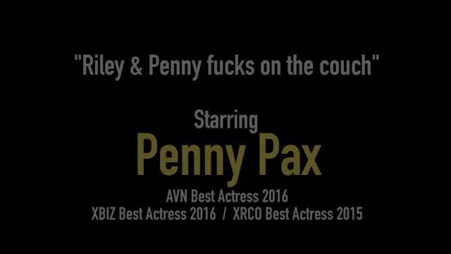 Redhead Sex Fiend Penny Pax Fingers & Pussy Fucks Riley Reid 17