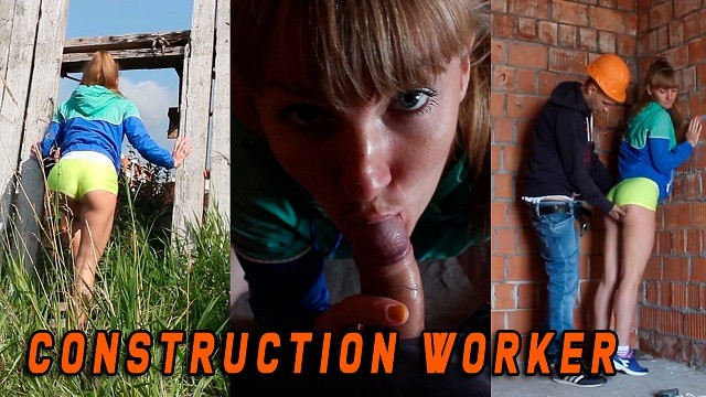 Nude consruction workers She was caught by a construction worker when she masturbated - en subtitles