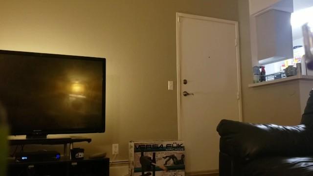 Naked Slut Answers the Door 7