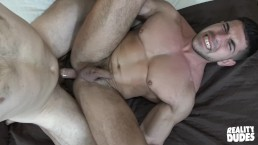 RealityDudes - Muscular dude pounded hard on camera