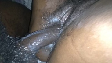 Digging in that CREAMY pussy